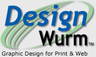 Design Wurm Graphic Design Logo